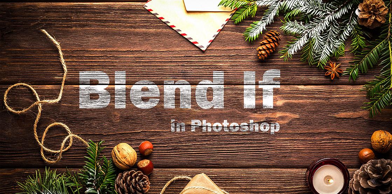 Blend if nsp