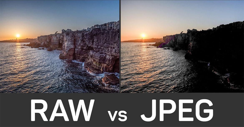 Raw vs jpeg nsp