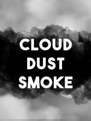 Cloud dust smoke