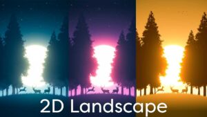2D landscape