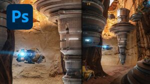 sci fi canyon