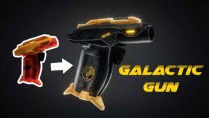 Galactic gun