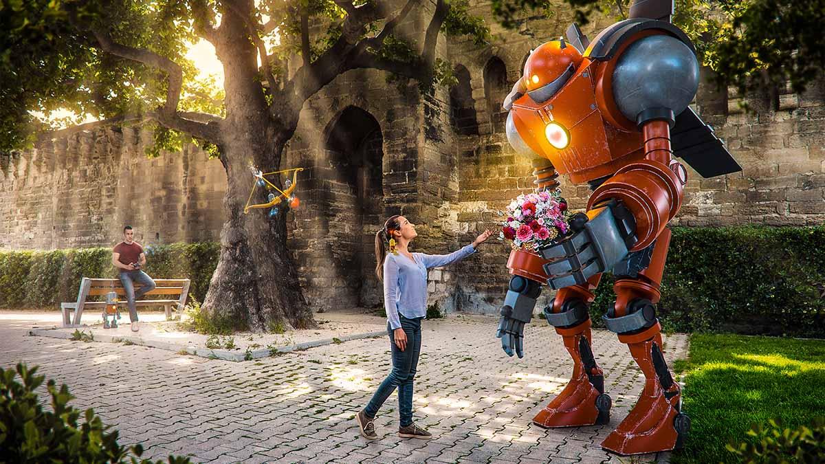 Robot Love Story