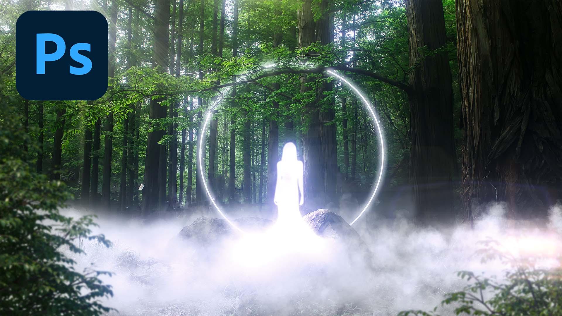 Mist effect in Photoshop