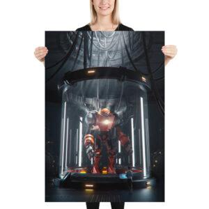 enhanced matte paper poster cm 70x100 cm person 6131d5253fe08