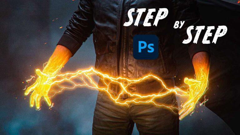 Lightning power effect